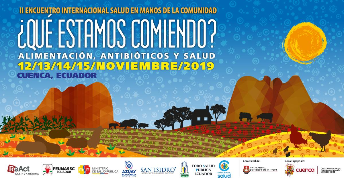A pocos días del II Encuentro Internacional 'Salud en Manos de la Comunidad'