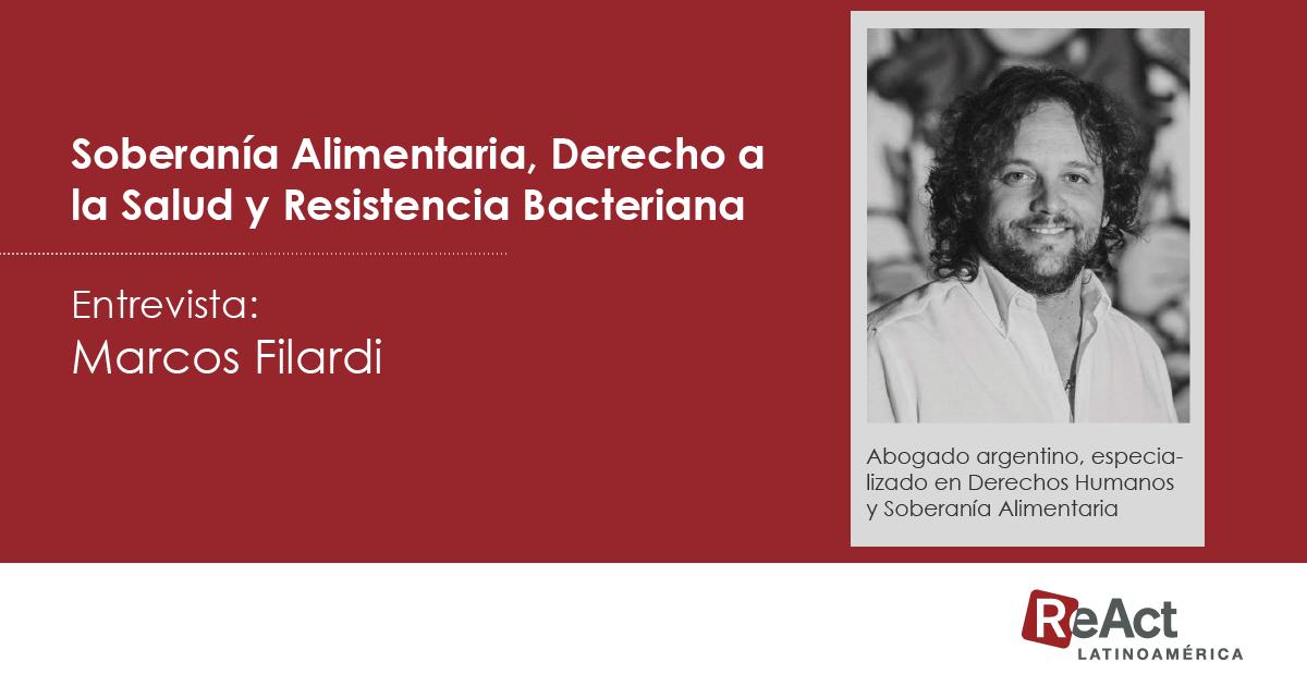 Soberanía Alimentaria, Derecho a la Salud y Resistencia Bacteriana