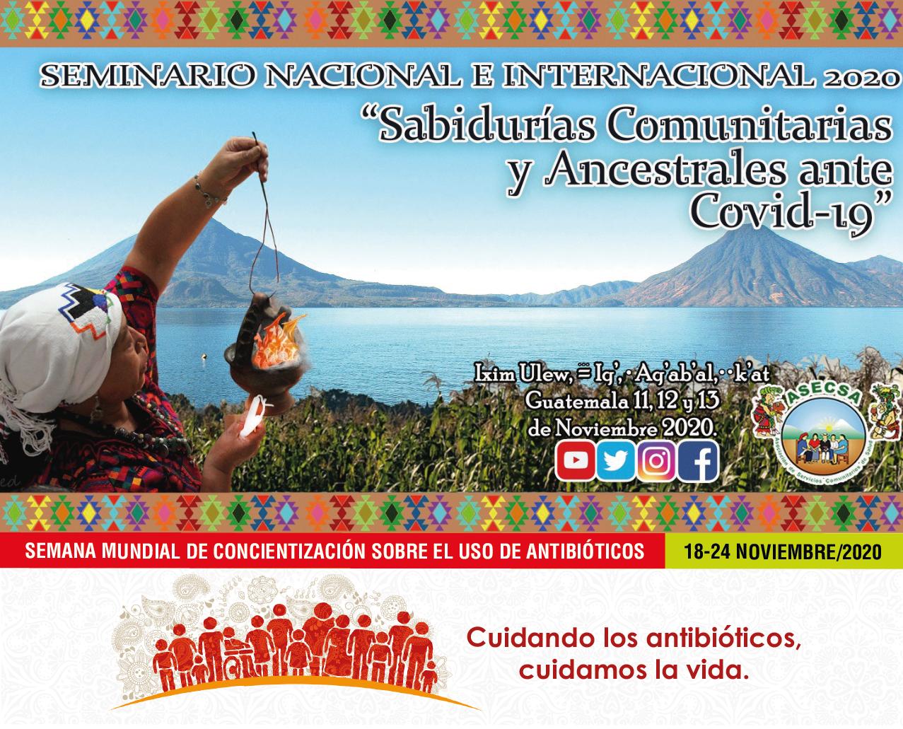 Sabiduría Comunitaria, COVID-19, Resistencia a los Antibióticos y Salud de la Madre Tierra