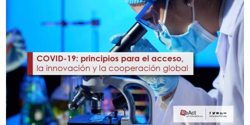 Principios para el acceso, la innovación y la cooperación global