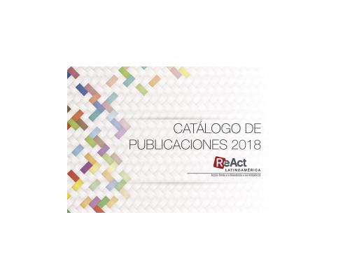 Catálogo de Publicaciones – ReAct Latinoamérica